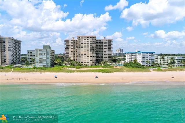 1800 S Ocean Blvd #1505, Pompano Beach, FL 33062 (MLS #F10195478) :: The Paiz Group