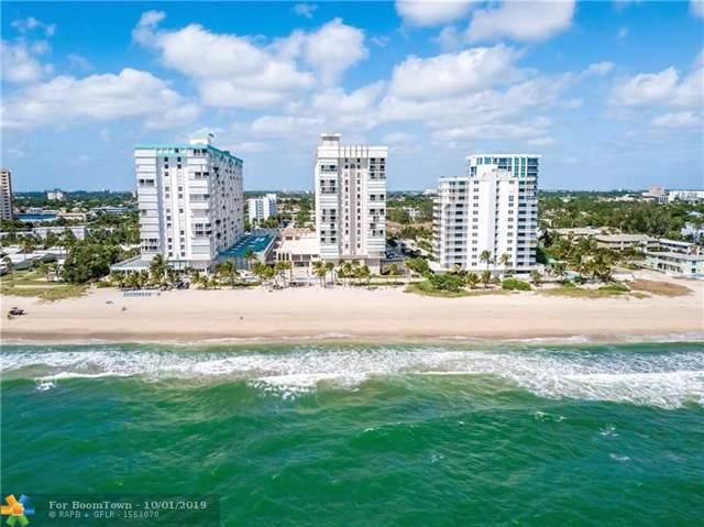 1000 S Ocean Blvd 14J, Pompano Beach, FL 33062 (MLS #F10195731) :: Patty Accorto Team