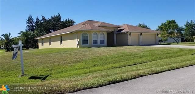 100 SW Lion Ln, Port Saint Lucie, FL 34953 (MLS #F10196131) :: Green Realty Properties
