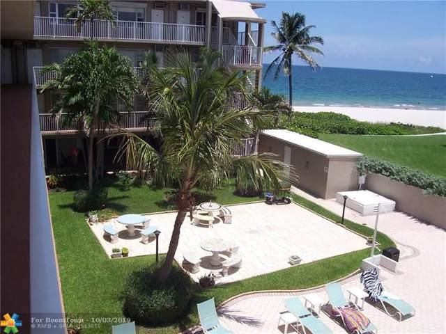 1480 S Ocean Blvd #105, Lauderdale By The Sea, FL 33062 (MLS #F10197380) :: Patty Accorto Team