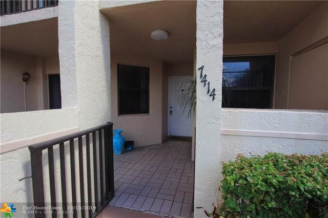 7414 Fairfax Dr #105, Tamarac, FL 33321 (MLS #F10199241) :: Castelli Real Estate Services