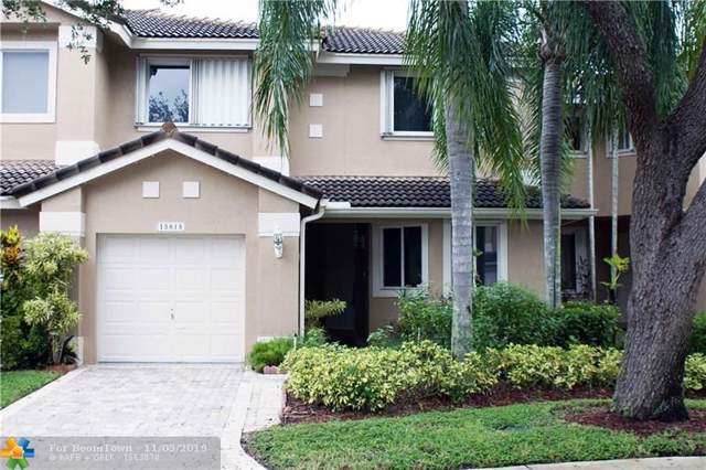 15815 SW 11th St #15815, Pembroke Pines, FL 33027 (MLS #F10199503) :: Green Realty Properties