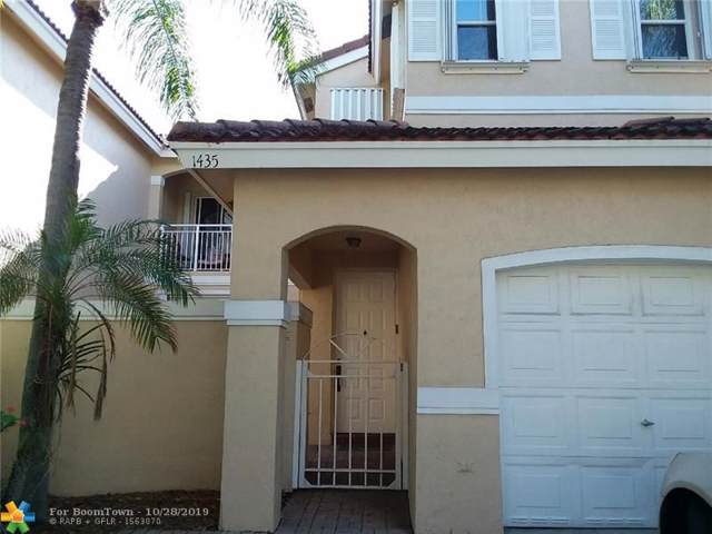 1435 Yellowheart Way, Hollywood, FL 33019 (MLS #F10200309) :: RICK BANNON, P.A. with RE/MAX CONSULTANTS REALTY I