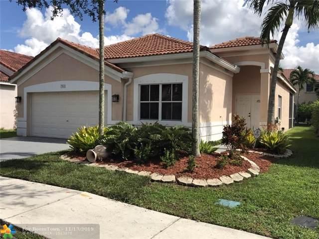 761 Tanglewood Cir, Weston, FL 33327 (MLS #F10200530) :: Green Realty Properties