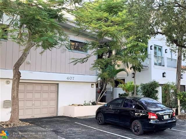 405-407 Hendricks Isle, Fort Lauderdale, FL 33301 (MLS #F10200606) :: Green Realty Properties