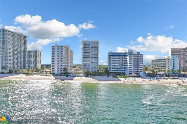 4020 Galt Ocean Dr #1103, Fort Lauderdale, FL 33308 (MLS #F10200784) :: The O'Flaherty Team