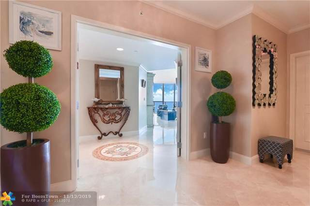 3101 S Ocean Dr #2805, Hollywood, FL 33019 (MLS #F10202253) :: The O'Flaherty Team