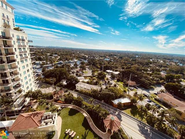 610 W Las Olas Bl 1711N, Fort Lauderdale, FL 33312 (MLS #F10203969) :: The O'Flaherty Team