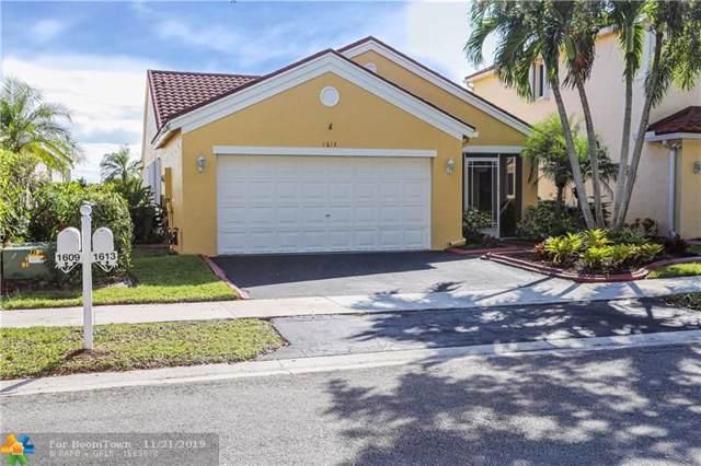 1613 Salerno Cir, Weston, FL 33327 (#F10204365) :: Real Estate Authority