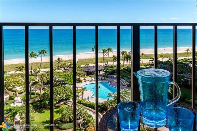 5100 N Ocean Blvd #1111, Lauderdale By The Sea, FL 33308 (MLS #F10204628) :: Castelli Real Estate Services