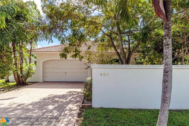 810 NE 21 Drive, Wilton Manors, FL 33305 (#F10205323) :: Adache Real Estate LLC
