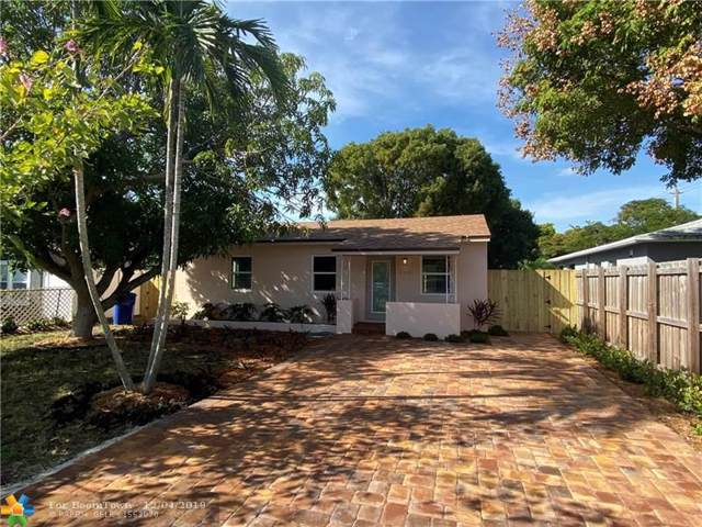 1341 NW 5th Ave, Fort Lauderdale, FL 33311 (MLS #F10205413) :: Patty Accorto Team