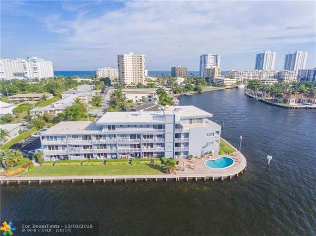 1201 S Riverside Dr #304, Pompano Beach, FL 33062 (MLS #F10205536) :: Berkshire Hathaway HomeServices EWM Realty