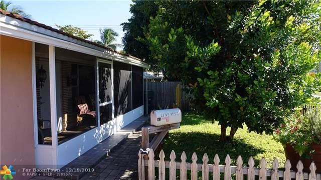 61 NE 39th St, Oakland Park, FL 33334 (MLS #F10206217) :: Berkshire Hathaway HomeServices EWM Realty