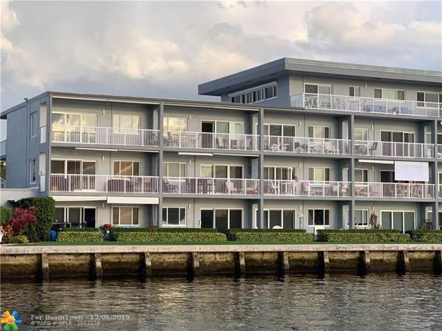 1201 S Riverside Dr #106, Pompano Beach, FL 33062 (MLS #F10206353) :: Castelli Real Estate Services