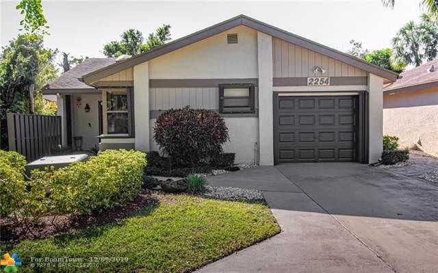 2254 Seagrape Cir, Coconut Creek, FL 33066 (MLS #F10206544) :: Berkshire Hathaway HomeServices EWM Realty