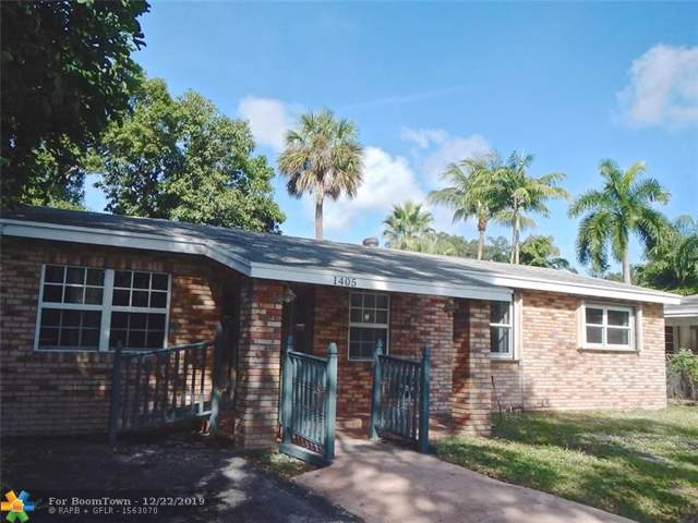 1405 SW 19th St, Fort Lauderdale, FL 33315 (MLS #F10208143) :: The O'Flaherty Team