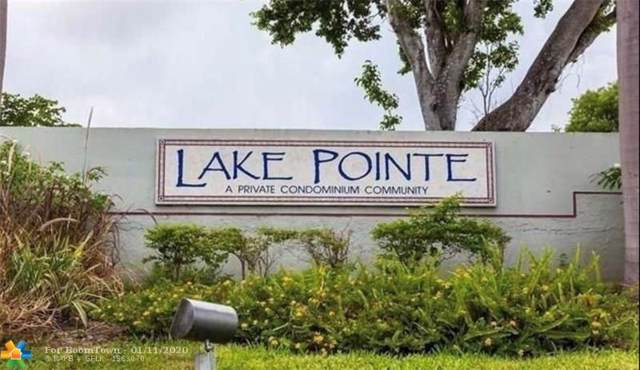211 NW Lake Pointe Dr #106, Lauderdale Lakes, FL 33309 (MLS #F10208687) :: Best Florida Houses of RE/MAX