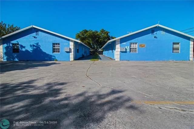 1305 NW 2nd Ave, Pompano Beach, FL 33060 (MLS #F10208736) :: Berkshire Hathaway HomeServices EWM Realty