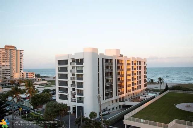 801 N Ocean Blvd #701, Pompano Beach, FL 33062 (MLS #F10209682) :: The O'Flaherty Team