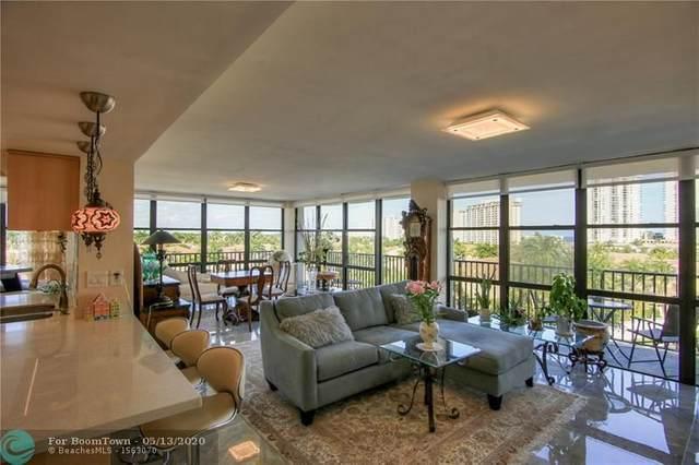 1000 Parkview Dr #610, Hallandale, FL 33009 (#F10209690) :: Posh Properties