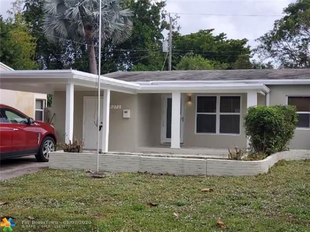 5272 NE 3rd Ave, Oakland Park, FL 33334 (MLS #F10210252) :: Green Realty Properties