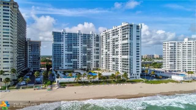4300 N Ocean Blvd 11 M, Fort Lauderdale, FL 33308 (MLS #F10210948) :: The O'Flaherty Team
