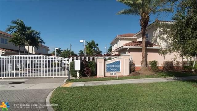2329 SE 5th St #2329, Pompano Beach, FL 33062 (MLS #F10211555) :: Green Realty Properties