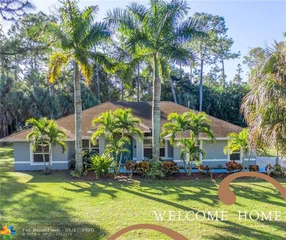 15848 88th Pl, Loxahatchee, FL 33470 (MLS #F10212045) :: Green Realty Properties