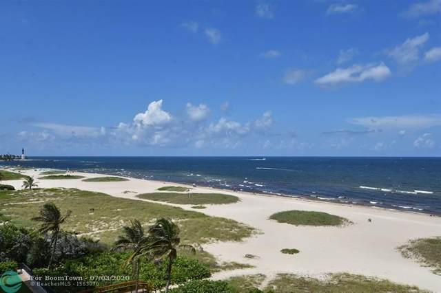 750 N Ocean Blvd #605, Pompano Beach, FL 33062 (MLS #F10212532) :: Berkshire Hathaway HomeServices EWM Realty