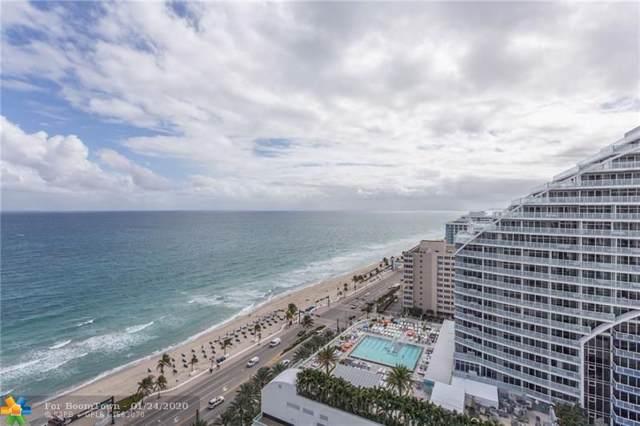 505 N Fort Lauderdale Beach Blvd #1815, Fort Lauderdale, FL 33304 (MLS #F10212546) :: Laurie Finkelstein Reader Team