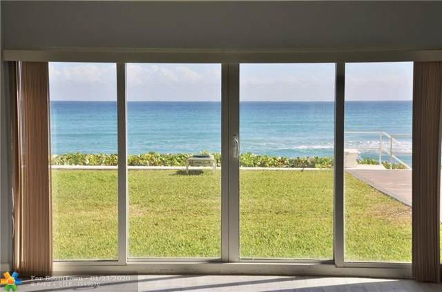 2909 S Ocean Blvd 1B1, Highland Beach, FL 33487 (#F10212870) :: Ryan Jennings Group