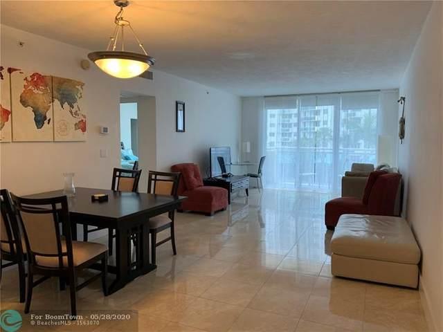 3000 S Ocean Dr #306, Hollywood, FL 33019 (#F10212951) :: Baron Real Estate