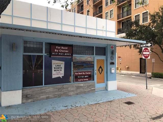 600 Lake Ave, Lake Worth, FL 33460 (MLS #F10213668) :: Berkshire Hathaway HomeServices EWM Realty
