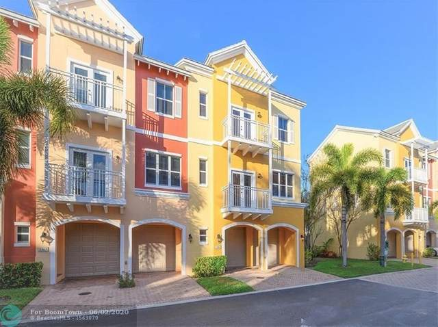 2361 Vintage Dr #2361, Lighthouse Point, FL 33064 (MLS #F10213686) :: THE BANNON GROUP at RE/MAX CONSULTANTS REALTY I