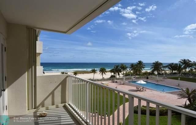 750 N Ocean Blvd #404, Pompano Beach, FL 33062 (MLS #F10213860) :: Berkshire Hathaway HomeServices EWM Realty