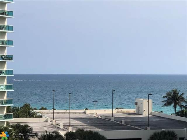 3800 S Ocean Dr #715, Hollywood, FL 33019 (MLS #F10214644) :: The O'Flaherty Team