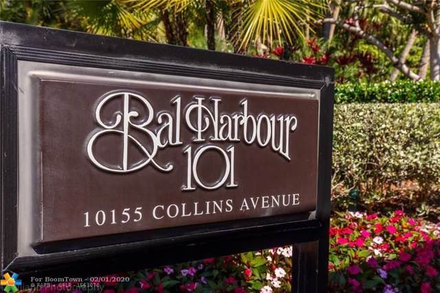 10155 Collins Ave #501, Bal Harbour, FL 33154 (MLS #F10214747) :: The O'Flaherty Team