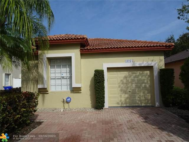 19273 NW 14th St, Pembroke Pines, FL 33029 (MLS #F10215884) :: Castelli Real Estate Services