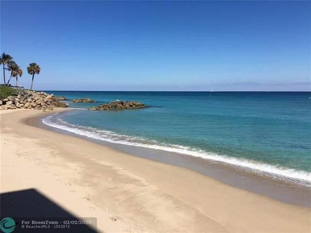 1239 Hillsboro Mile #101, Hillsboro Beach, FL 33062 (MLS #F10216113) :: THE BANNON GROUP at RE/MAX CONSULTANTS REALTY I