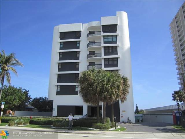 812 N Ocean Blvd #202, Pompano Beach, FL 33062 (MLS #F10216895) :: Green Realty Properties