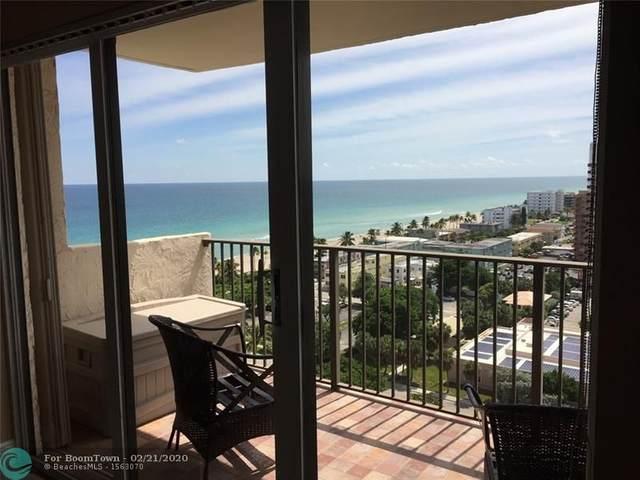 1201 S Ocean Dr 1610S, Hollywood, FL 33019 (MLS #F10217481) :: Castelli Real Estate Services