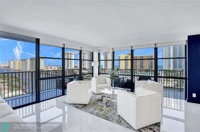 1000 Parkview Dr #921, Hallandale, FL 33009 (MLS #F10218218) :: Green Realty Properties