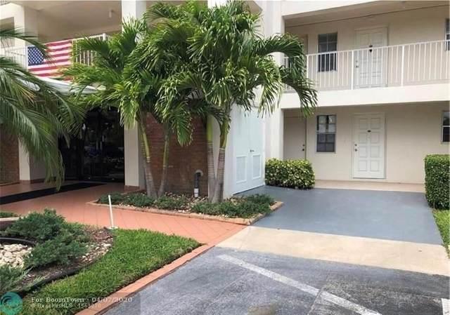2651 S Palm Aire Dr #105, Pompano Beach, FL 33069 (MLS #F10220431) :: Laurie Finkelstein Reader Team