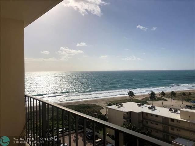 1900 S Ocean Blvd 10A, Pompano Beach, FL 33062 (#F10221140) :: Dalton Wade