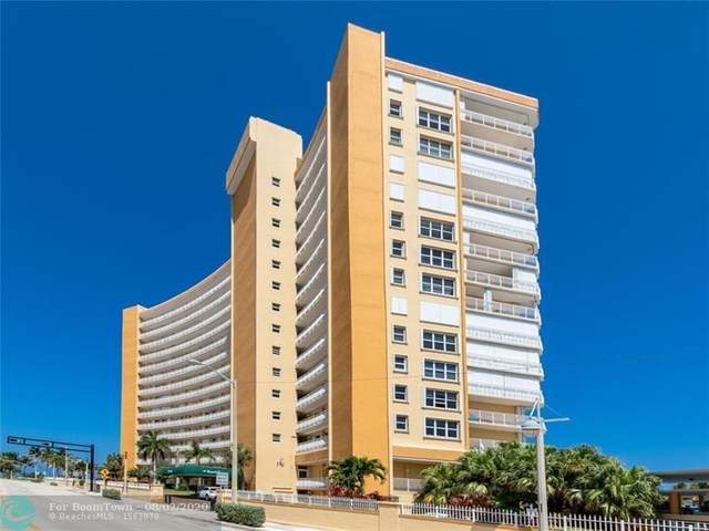 328 N Ocean Blvd #601, Pompano Beach, FL 33062 (#F10221240) :: Posh Properties
