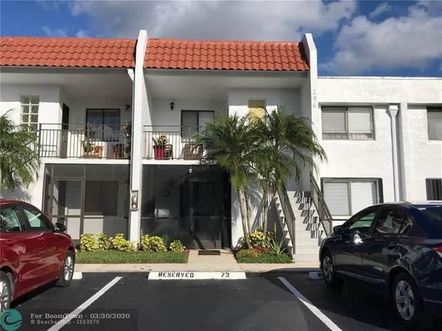 296 Racquet Club Rd #203, Weston, FL 33326 (MLS #F10222602) :: Green Realty Properties