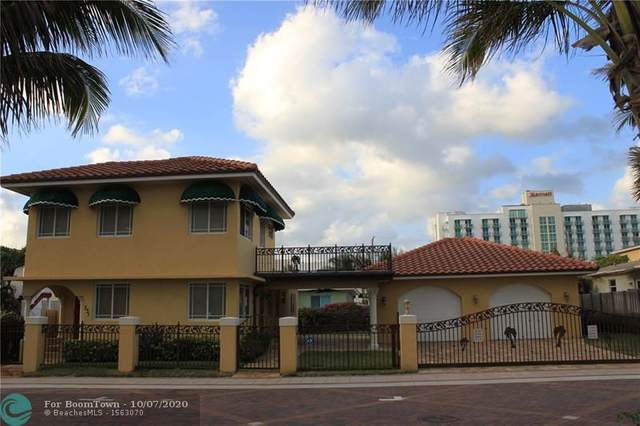 331 Nevada St, Hollywood, FL 33019 (MLS #F10222766) :: Berkshire Hathaway HomeServices EWM Realty