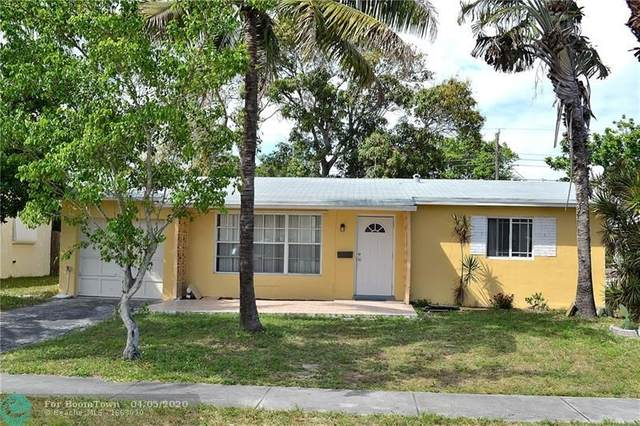 6661 NW 24th Pl, Sunrise, FL 33313 (MLS #F10223186) :: Green Realty Properties