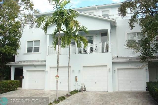 712 SW 9 Ter #712, Fort Lauderdale, FL 33315 (MLS #F10223401) :: The Howland Group